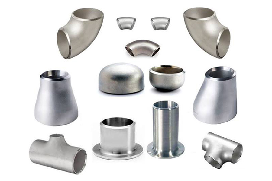 Stainless steel fittings nipples flanges
