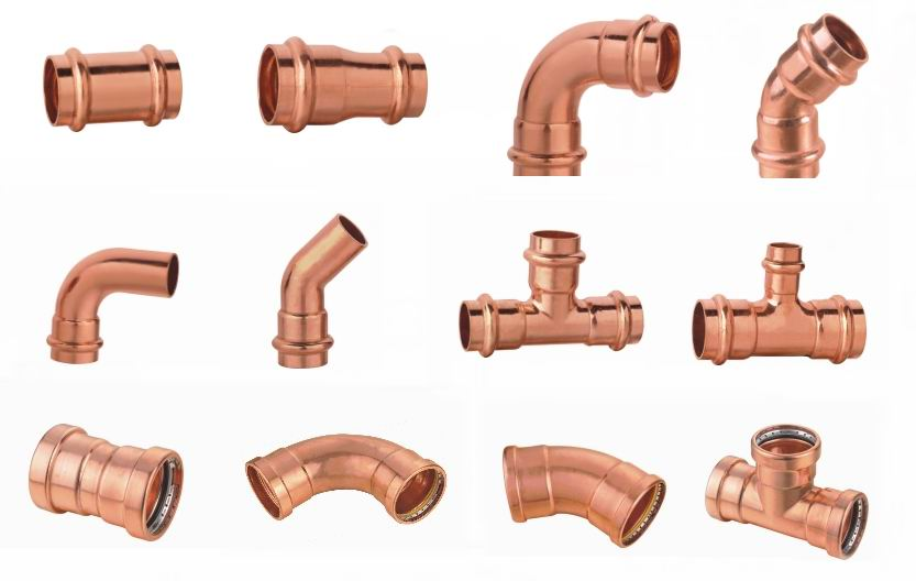 Copper Brass Bronze Fittings Nipples Flanges